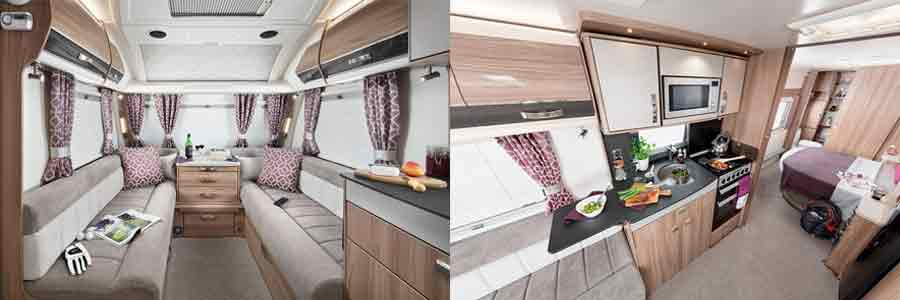 2018 Swift Conqueror caravans from United British Caravans