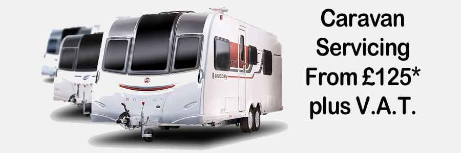 Caravan Servicing from United British Caravans