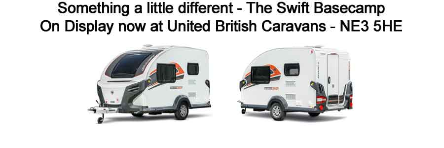 Swift Basecamp from United British Caravans