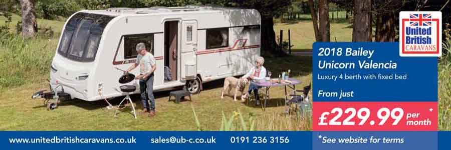 Bailey Unicorn Valencia from United British Caravans